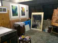Nivedita Dutta's studio